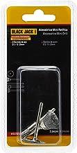 Jogo De 3 Acessórios Para Micro Retifica Mini Escovas De Aço, Black Jack Ws370015 Black Jack