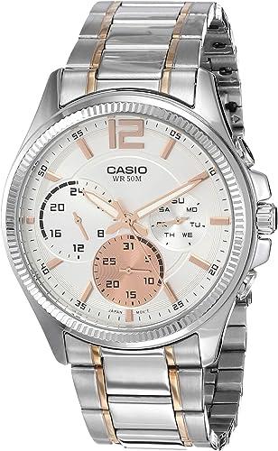 Enticer Men Analog Silver Dial Men s Watch MTP E305HRG 7AVIF A1662