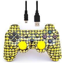 Arsenal Gaming PS3 Wired Controller Emoji Design