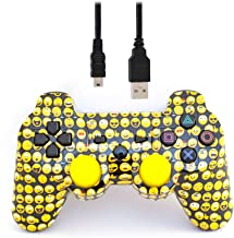 arsenal gaming ps3 wired controller