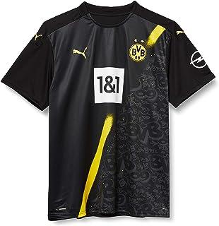 PUMA Herren BVB Away Shirt Replica Ss W.Sponsor New T-Shirt