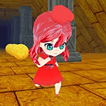 Cinderella Run in Temple 3D (Race for Your Life in Adventures World)