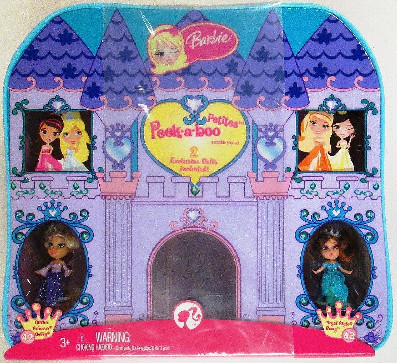 Barbie Peek-a-Boo Purse and Playset Purple