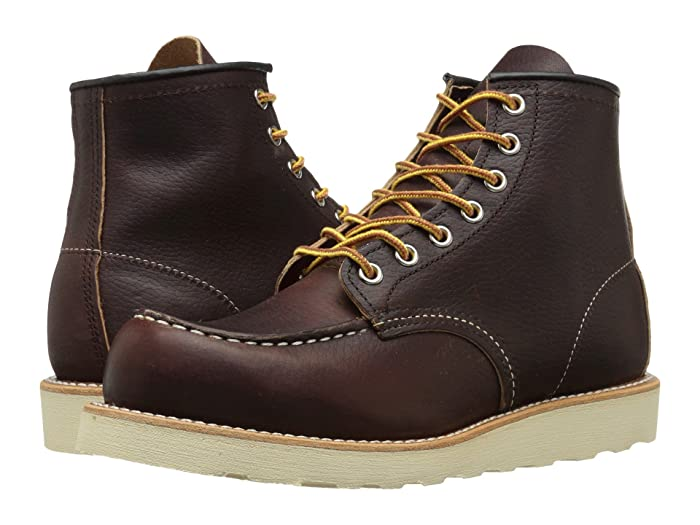 Red Wing Heritage  6 Moc Toe (Briar Oil Slick) Mens Lace-up Boots
