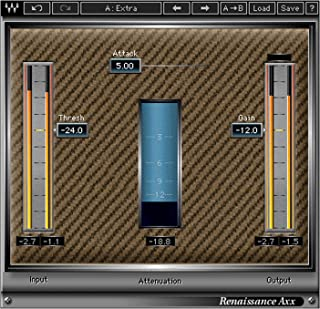 Waves Renaissance Axx | Compressor Plugin Software Download Only