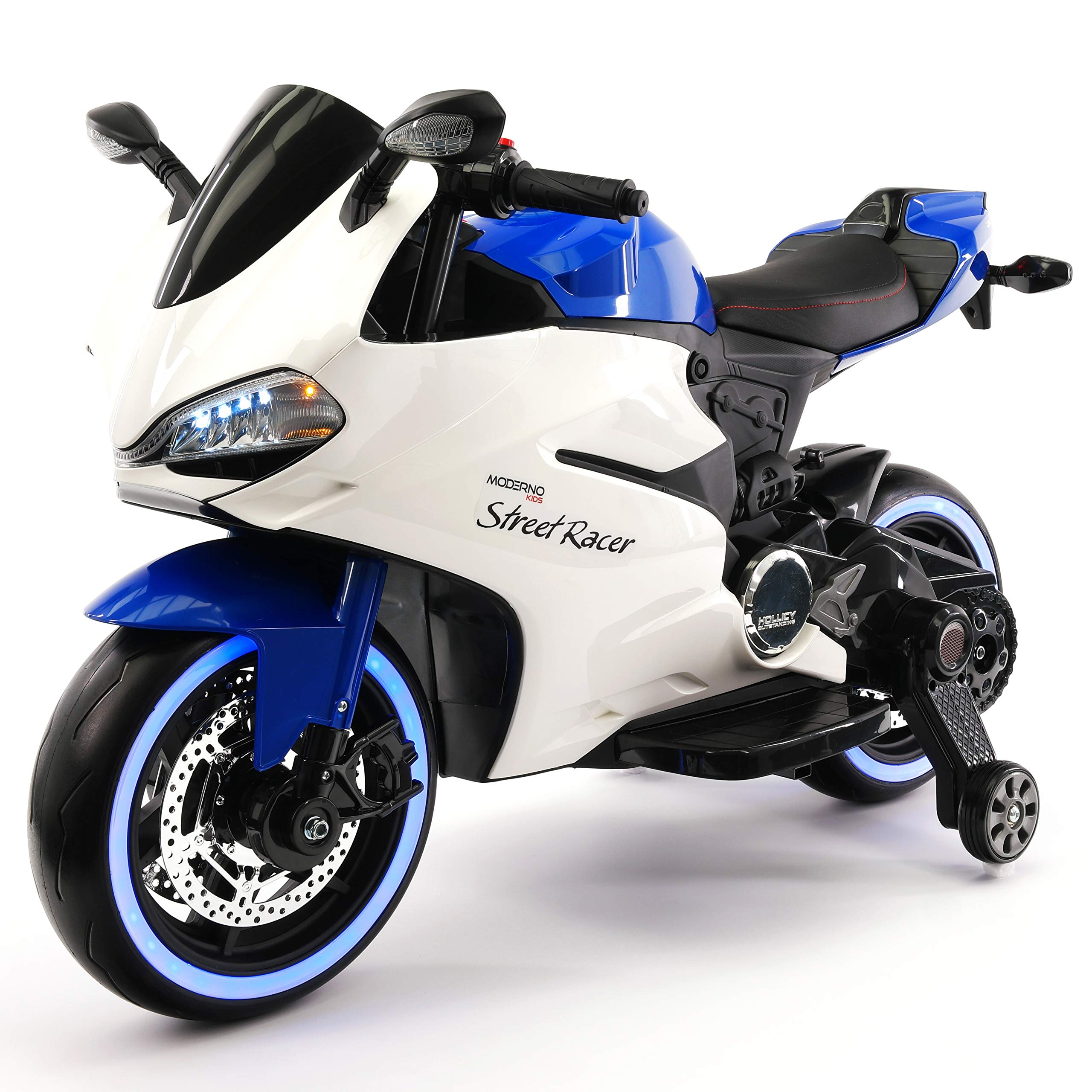 Motorized Electric Kids Motorcycle Suspension