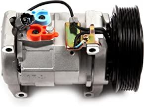 AUTOMUTO A/C Compressor fit for 2003-2007 Honda Accord Envoy 2.4L Compatible with CO 28003C Auto Repair Compressors Assembly