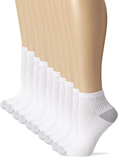 Women's 10-Pack Pull On Closure Ankle Socks