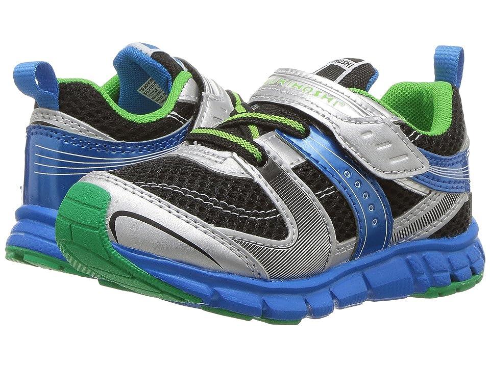 Tsukihoshi Kids Velocity (Toddler/Little Kid) (Silver/Black) Boys Shoes