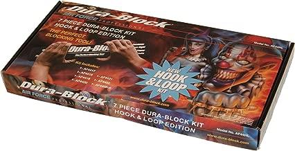 Dura-Block AF44HL Hook & Loop Black 7-Piece Sanding Block Set