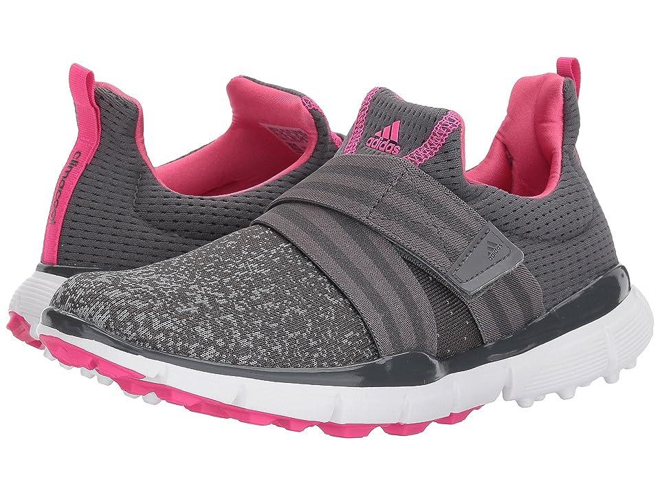 adidas Golf Climacool Knit (Grey Five/Grey Four/Shock Pink) Women