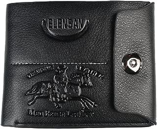 Handmade Leather Bi-fold Roper Wallet Simplistic Style W929