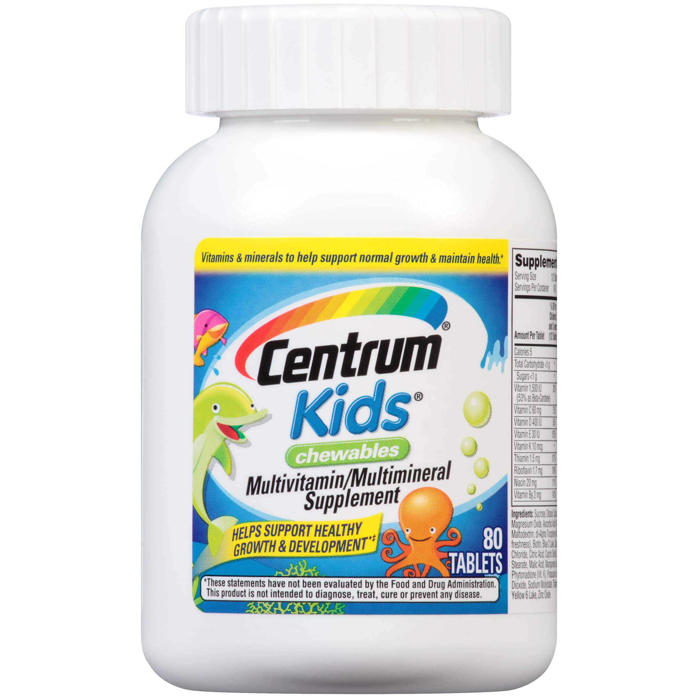 Centrum Chewables Multivitamin Multimineral Supplement