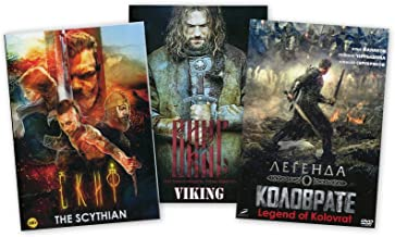 3DVD NTSC Best Russian historical action movies The Scythian - Viking - Legend of Kolovrat