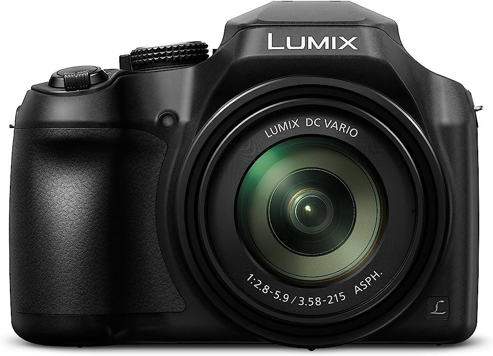 Panasonic,fotocamera 4k, 18.1 megapixel, obiettivo zoom 20-1200 mm DC-FZ82EG-K