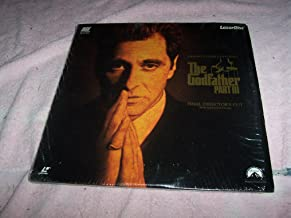Laser Disc, Laserdisc of THE GODFATHER PART III with Al Pacino, Diane Keaton, Talia Shire, Andy Garcia, Eli Wallach, Bridget Fonda and George Hamilton.