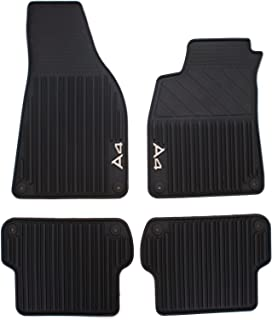 Genuine Audi Accessories 8E1061450041 Rubber All-Weather Floor Mat, (Set of 4)