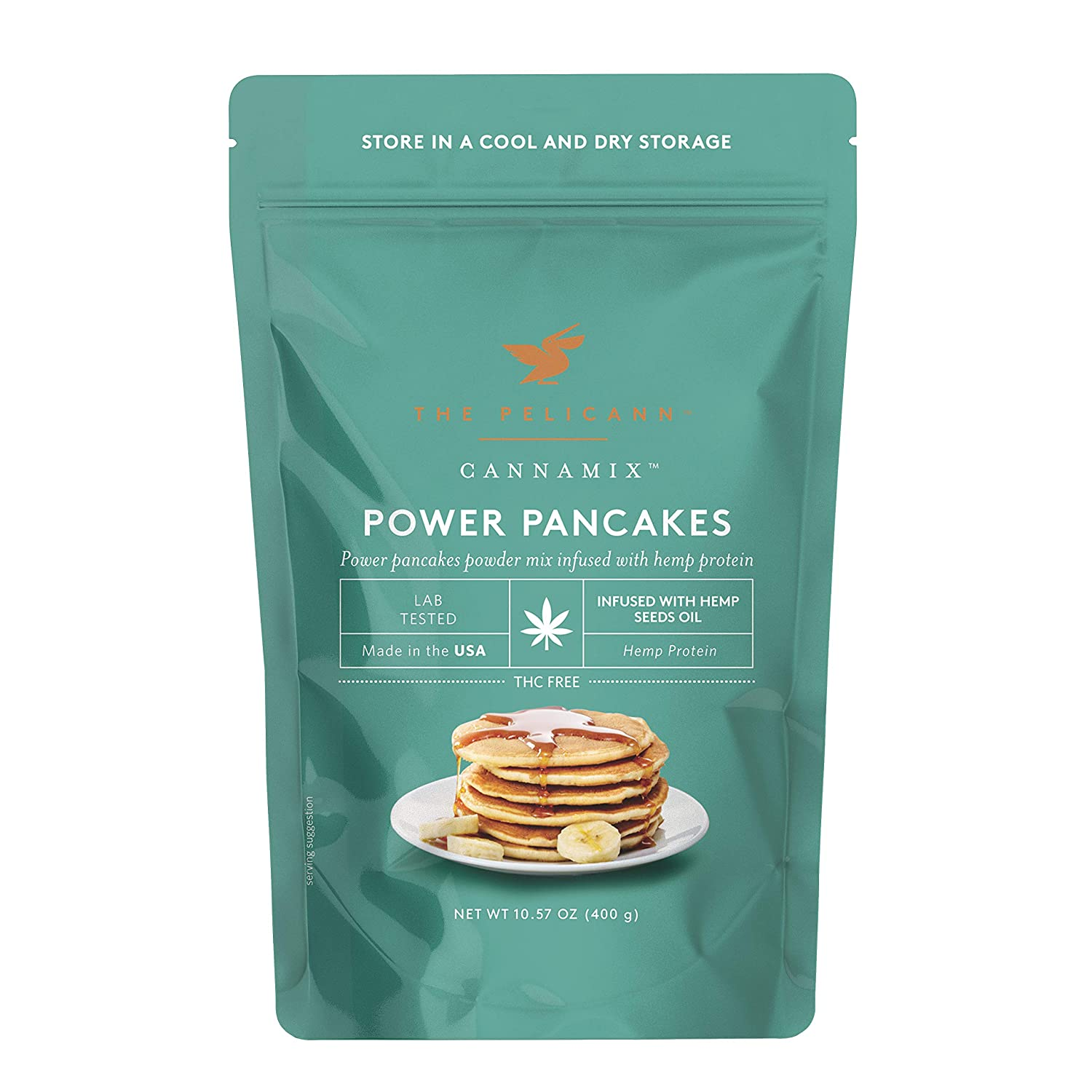 Popular brand The Pelicann CANNAMIX Pancake Phoenix Mall Waffle Infused B Mix with Plant