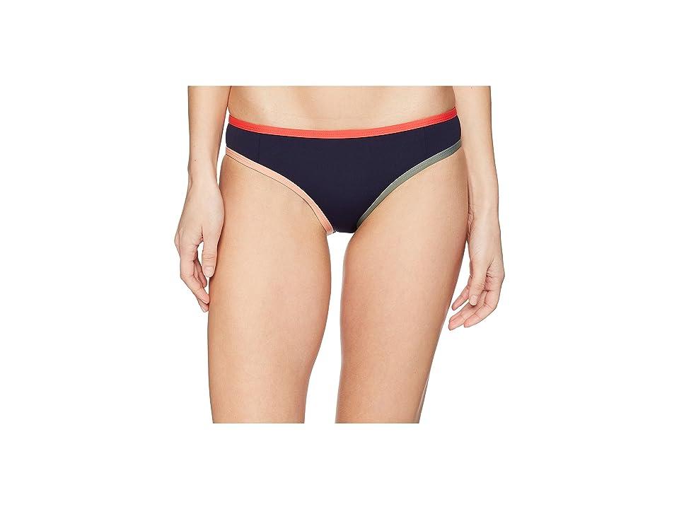 Tavik Jayden Full Swim Bottom Color Blocked (Evening Blue/Hibiscus) Women