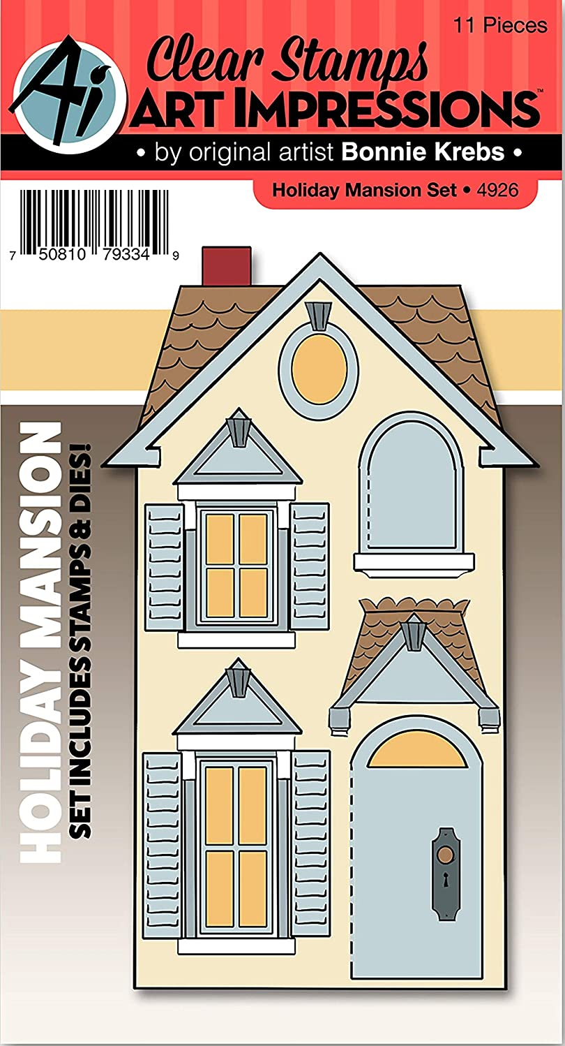 Art Impressions Stamp & Die Set -Holiday Mansion, 4926, by Art Impressions, One (1)