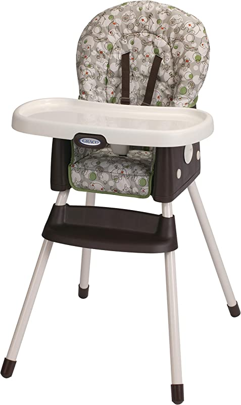Graco Simpleswitch Portable High Chair And Booster Zuba One Size