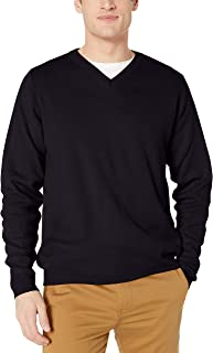 Men's Adult Unisex Long Sleeve V-Neck Sweater