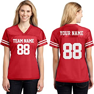 Custom Sports Jerseys for Ladies - Make Your OWN Jersey T Shirts & Team Uniforms