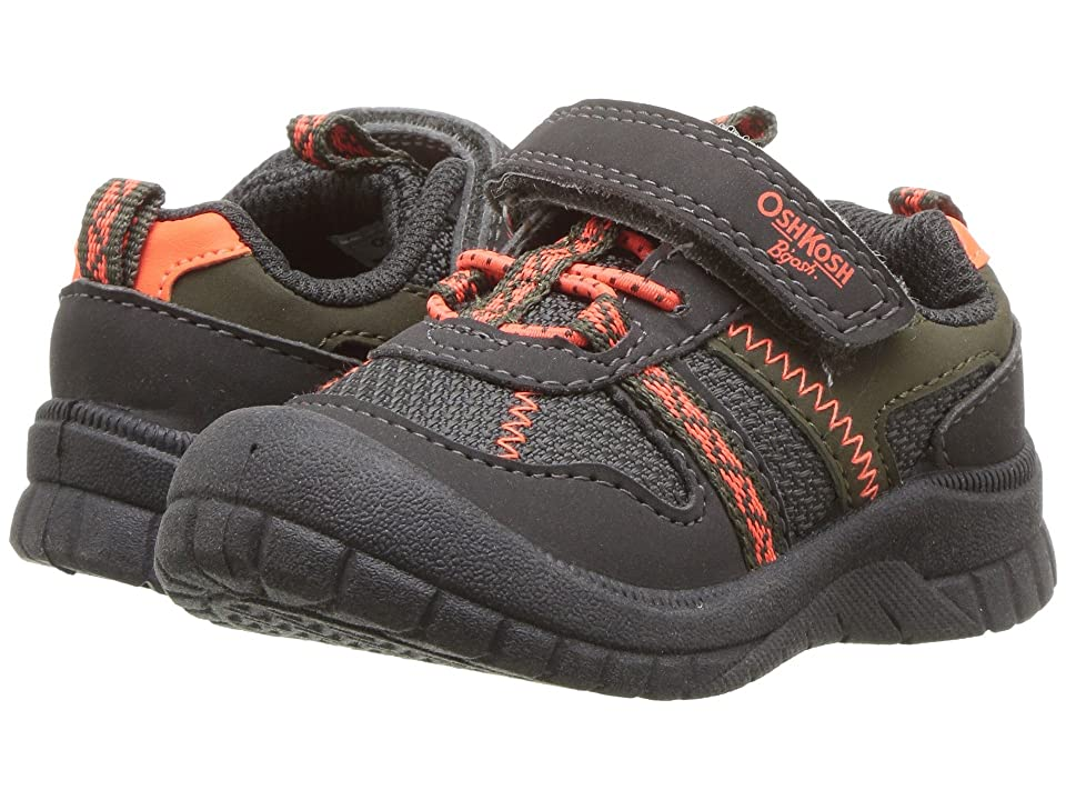 OshKosh Garci (Toddler/Little Kid) (Charcoal) Boy