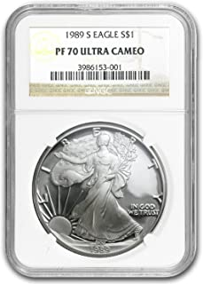 1989 S Proof Silver American Eagle PF-70 NGC Silver PR-70 NGC