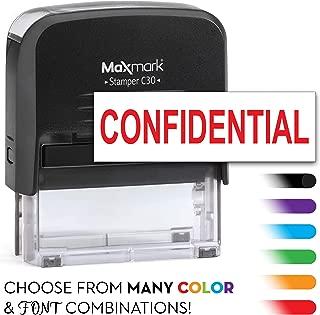 MaxMark One Line Self Inking Stamp - 3/4