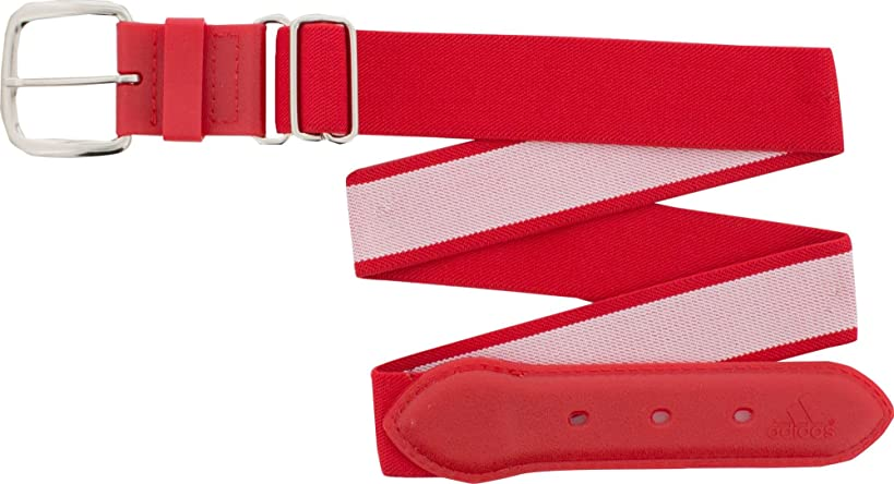 Adidas Youth Baseball Belt (Red, Youth)