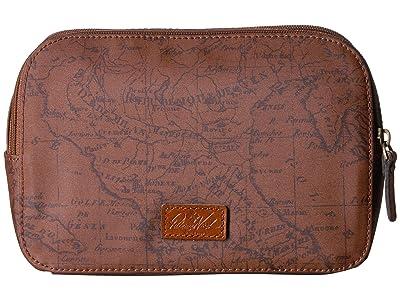 Patricia Nash Gabella Cosmetic Pouch (Signature Map) Handbags
