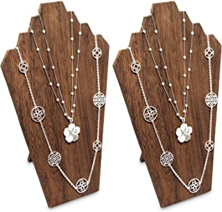 Best wooden jewelry display stands Reviews
