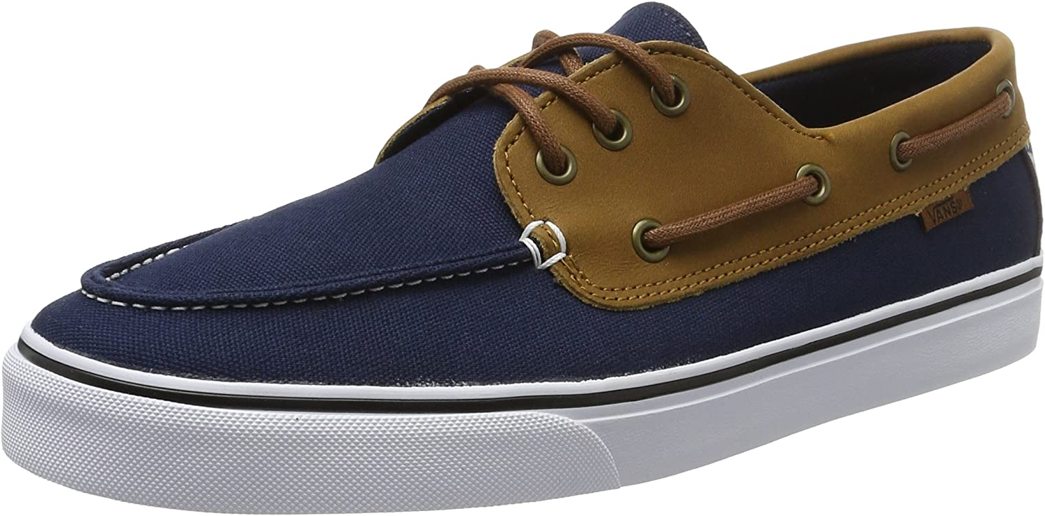 Amazon.com | Vans Men's Chauffeur Sf C and L Ankle-High Leather ...