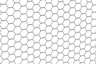 GAH-Alberts 614140 zeshoekig gaas | verschillende lengtes en hoogtes - naar keuze in verschillende kleuren | verzinkt | ma...