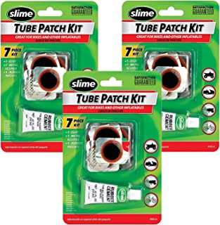 Slime 1022-A Rubber Tube Patch Kit with Glue 3-Pack