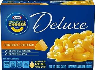 Kraft Deluxe Original Macaroni & Cheese Dinner (14 oz Box)