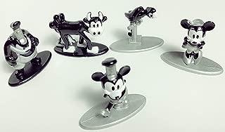 Jada Mickey Mouse 90th Ann. Nano Metalfigs Mini-Figure 5-Pack