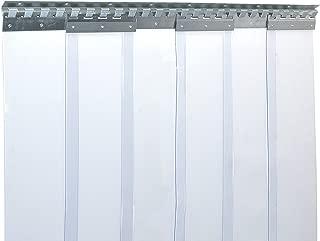 Cortina de fleje de PVC Cortina elástica industrial de