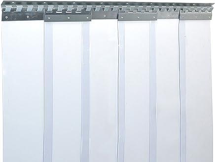 PVC Streifen Lamellen Vorhang 1,20m x 2,75 m    200x2mm