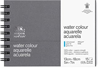 Winsor & Newton Professional Watercolor Paper Journal, Cold Pressed 140lb, 5x7
