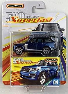 Matchbox 50th Anniversary Superfast Limited Edition - '18 Range Rover LWB (Blue)