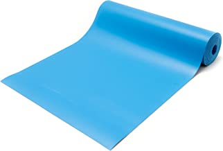 50 Feet Long Royal Blue Anti-Static Rubber Roll Workstation Mats Dissipative Rubber 30x50x0.080