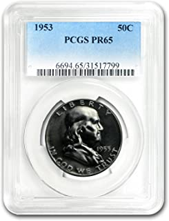 1953 Franklin Half Dollar PR-65 PCGS Half Dollar PR-65 PCGS