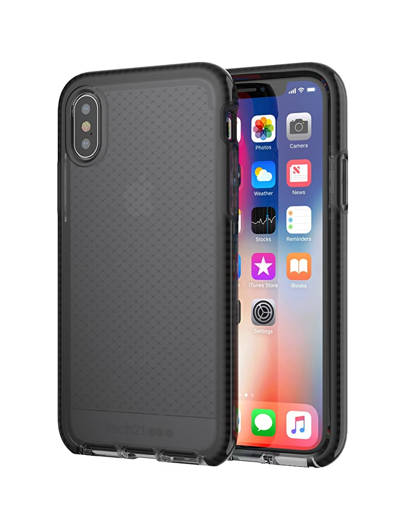Evo Check Case for iPhone X - Smokey/Black