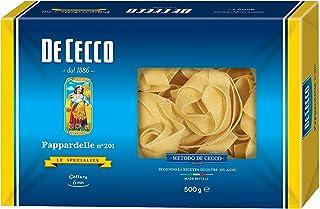 10x Pasta De Cecco 100% Italienisch Pappardelle n 201 Nudeln 500g