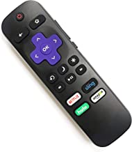 【OEM】 Standard Replacement Remote for Roku TV, Compatible with TCL/Hisense/Hitachi/Haier/RCA/Philips/LG/Element/Sanyo ROKU TV