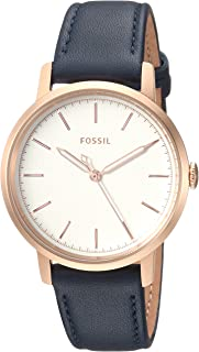 Fossil Women's 'Neely' Quartz Stainless Steel and Leather Casual Watch