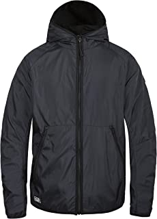 TIGER FORCE Mens Hooded Lightweight Windbreaker Active Jacket Soft Shell Outdoor Windproof Breathable Sportswear