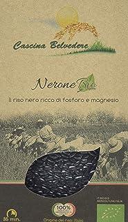 """Cascina Belvedere Riso integrale Nerone - Bio - Schwarzer Reis """"Nero"""" aus Italien/Piemont 1 x 0.5 kg"""